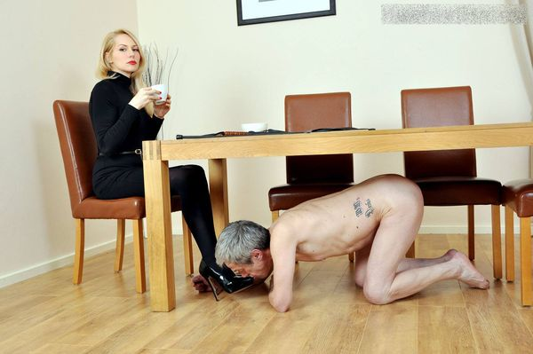 FemmeFataleFilms - Mistress Eleise - Dining Service part 5 update 11.09.2015