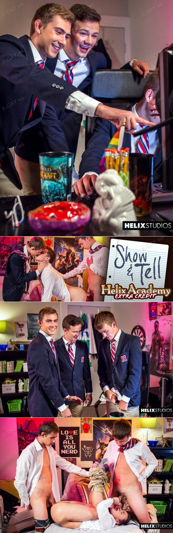 HelixStudios: Helix Academy Extra Credit: Show & Tell (Kody Knight, Troy Ryan, Logan Cross)