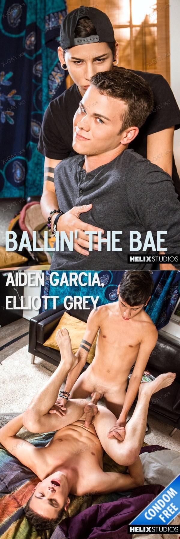 HelixStudios: Ballin' The Bae (Aiden Garcia, Elliott Grey) (Bareback)