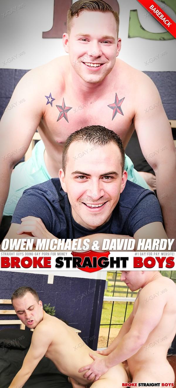 BrokeStraightBoys: Owen Michaels, David Hardy (Flip Fuck Bareback)
