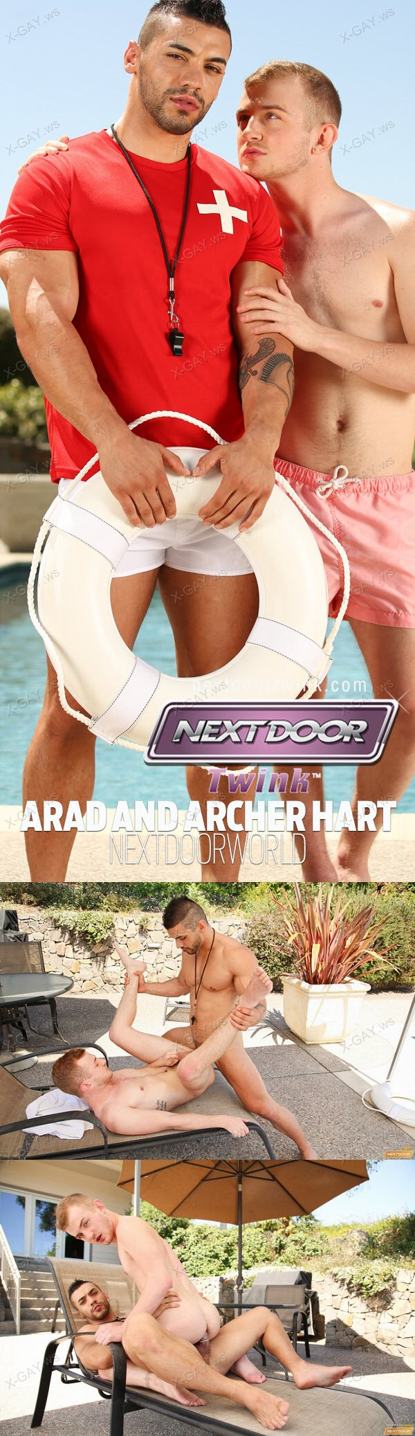 NextDoorTwink: The Lifeguard (Arad, Archer Hart)