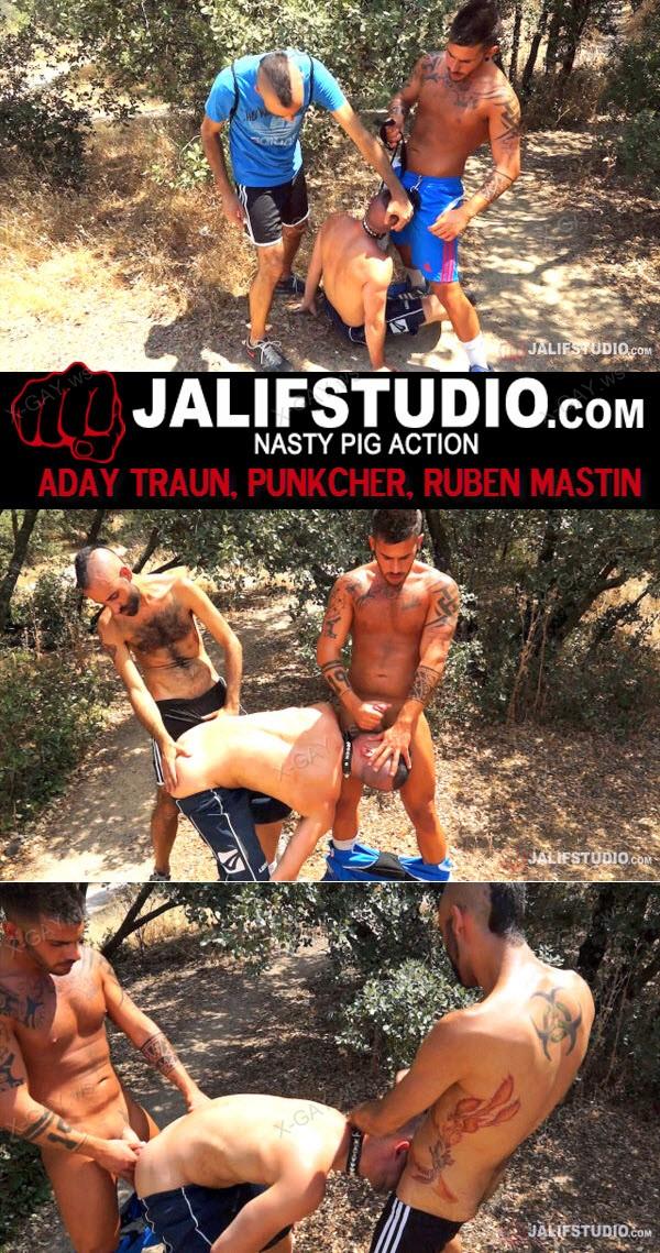JalifStudio: Aday Traun, Punkcher, Ruben Mastin