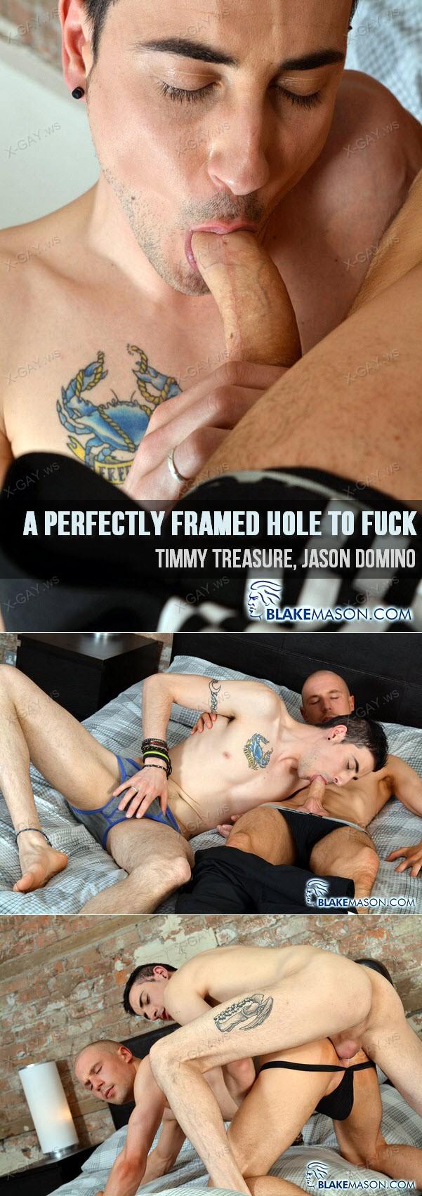 BlakeMason: A Perfectly Framed Hole To Fuck (Timmy Treasure, Jason Domino)