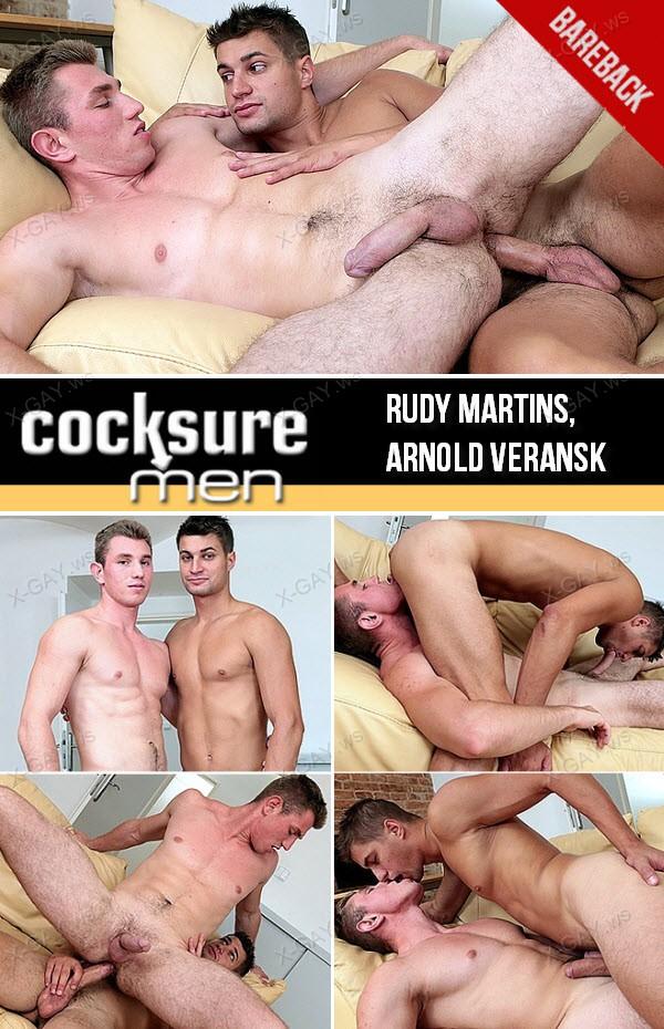 CockSureMen: Rudy Martins, Arnold Veransk (Bareback)