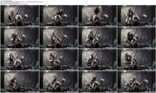 FetishNetwork - Mistress Ashley Edmonds - Mistress Ashley Edmonds Milks her Sex Slave for a Self Facial