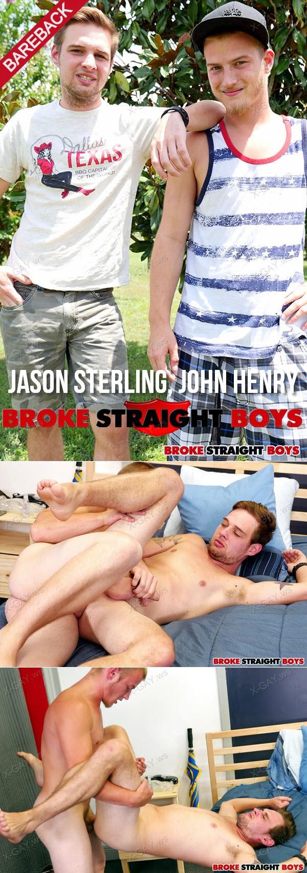 BrokeStraightBoys: Jason Sterling, John Henry (RAW)