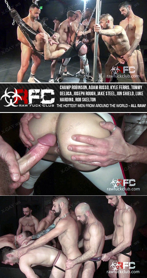 RawFuckClub: Finale (Champ Robinson, Adam Russo, Kyle Ferris, Tommy Deluca, Joseph Rough, Jake Steel, Jon Shield, Luke Harding, Rob Skelton) (Bareback)