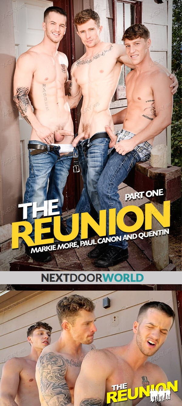 NextDoorWorld: The Reunion: Playful Boyfriends (Markie More, Paul Canon, Quentin)