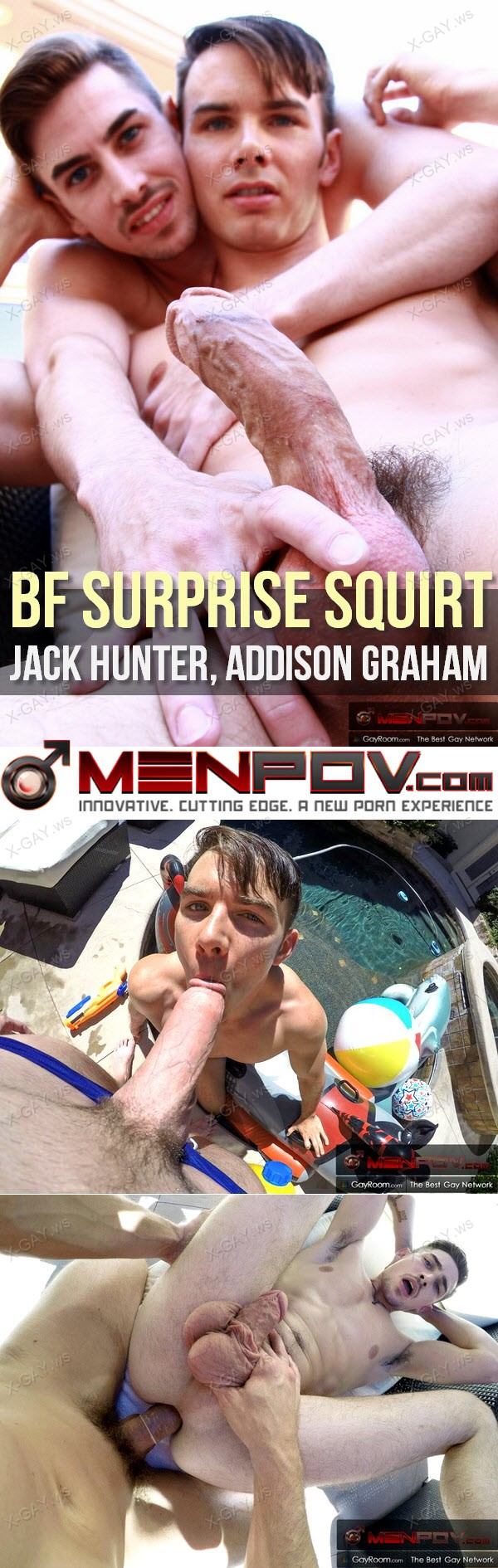 MenPOV: BF Surprise Squirt (Jack Hunter, Addison Graham)