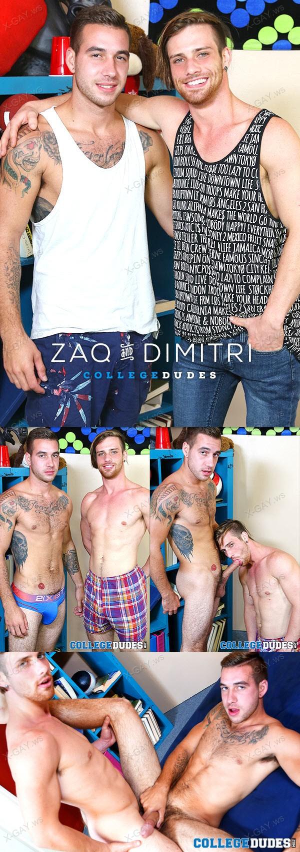 CollegeDudes: Dimitri Kane, Zaq Wolf
