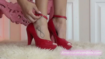 American Mean Girls - Edging Slave of Mean Girl Manor 5 Princess Beverly