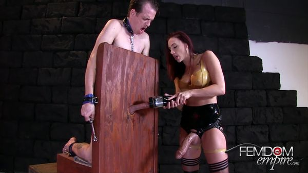 FemdomEmpire - Mistress Chanel Preston - Cum Extractor 9000x