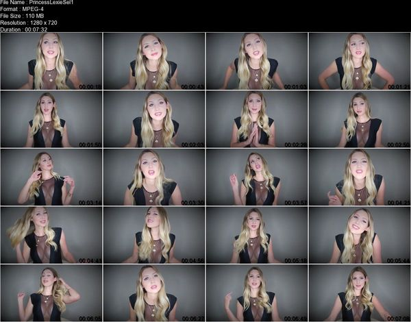 Princess Lexie - Sell Her Posessions