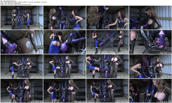 TheEnglishMansion - Mistress T, Mistress Lola Ruin - Slave Spin Cycle complete