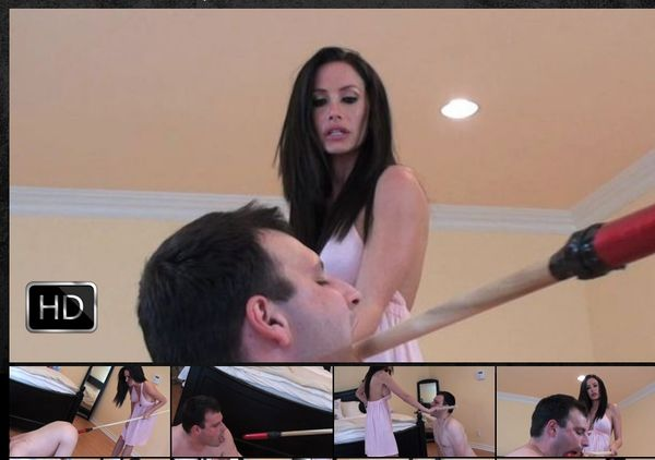 GlamBitches - Glam bitch administers anal punishment
