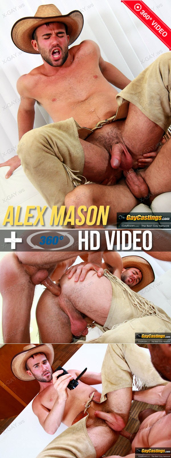 GayCastings: Alex Mason (360° Video FHD)
