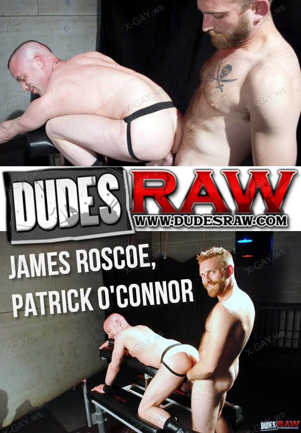 DudesRaw: James Roscoe, Patrick O'Connor (Bareback)