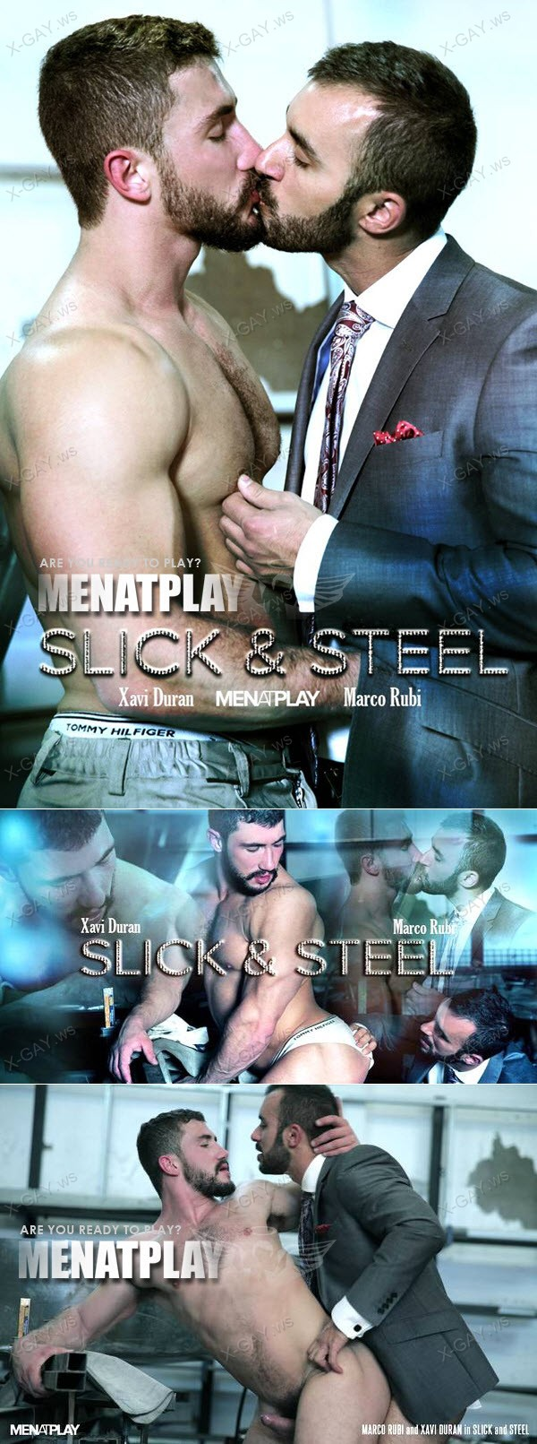 ManAtPlay: Slick And Steel (Marco Rubi, Xavi Duran)