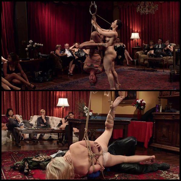 (30.10.2015) Naked Slave Girls Service Kinky Folsom Orgy