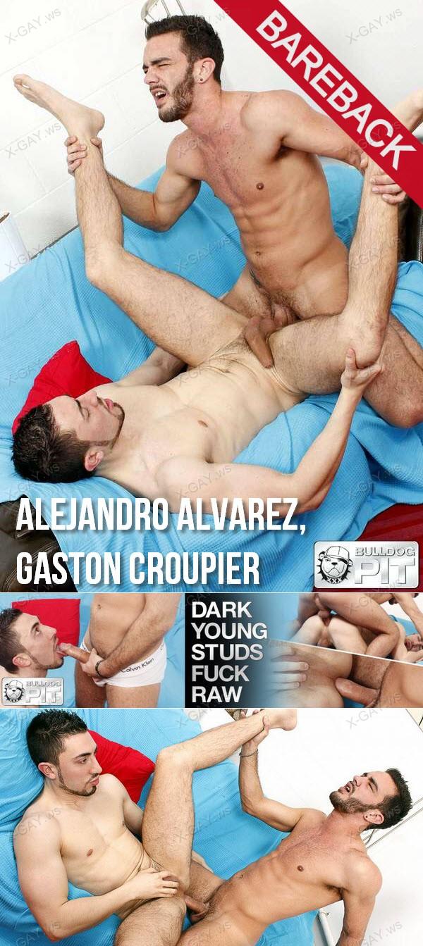 BulldogPIT: Dark Young Studs Fuck RAW (Alejandro Alvarez, Gaston Croupier)