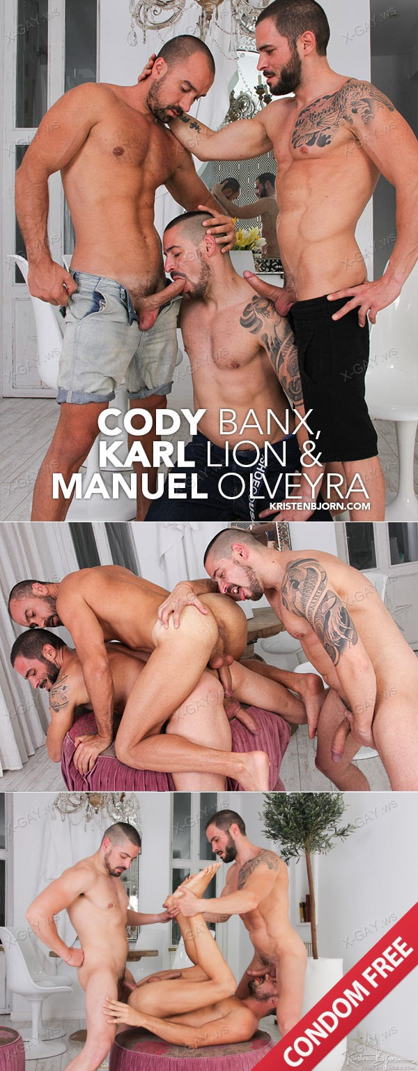 KristenBjorn: Skins: The Cable Car (Cody Banx, Karl Lion, Manuel Olveyra) (Bareback)