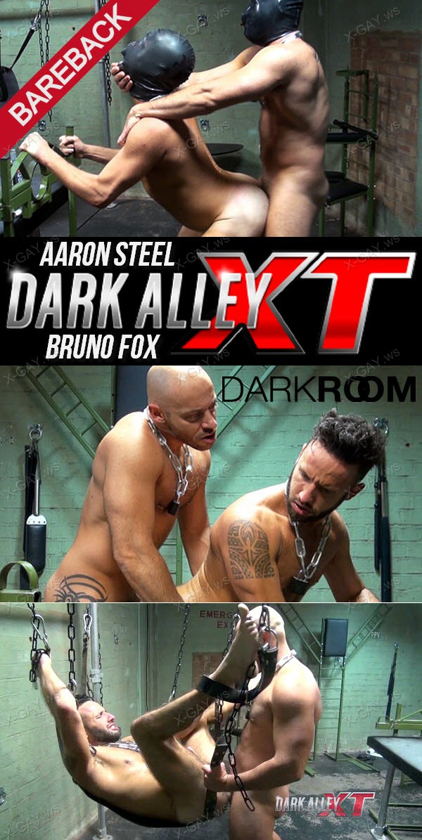 DarkRoom (Dark Alley): Steel and Fox (Aaron Steel, Bruno Fox) (Bareback)