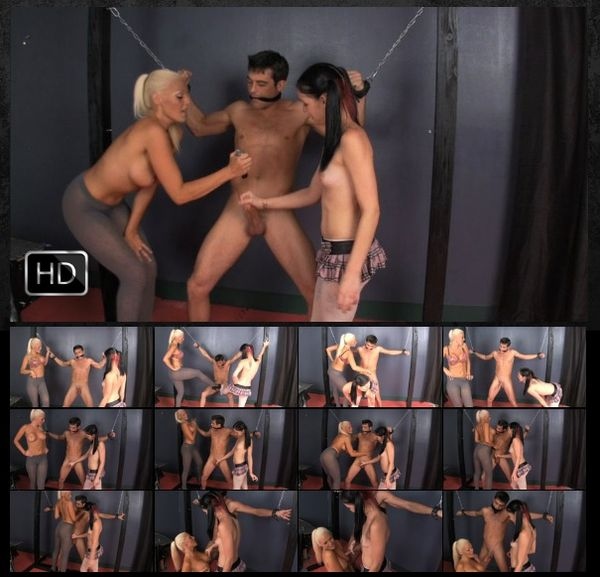 FetishNetwork - Mistress Courtney Cameron, Michelle Peters Plan to Castrate their Slave