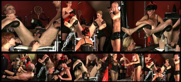 KinkyCarmen - Kinky Carmen - Bound and Surrounded by BDSM Masters