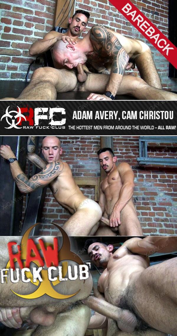 RawFuckClub: Adam Avery, Cam Christou (Bareback)