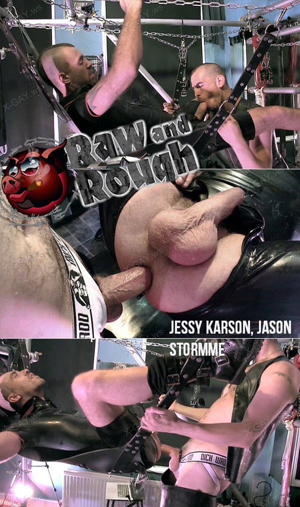 RawAndRough: Bro Breeding (Jessy Karson, Jason Stormme) (Bareback)