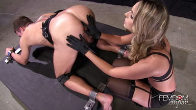 Femdom Empire - Impaled by Cock Allie Eve Knox