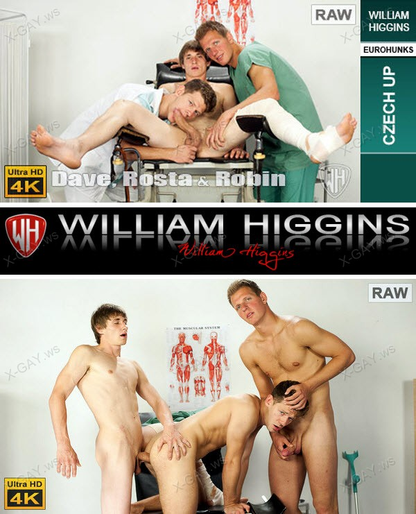 WilliamHiggins: Dave Cargo, Rosta Benecky, Robin Valej (RAW, CZECH UP) [4K Ultra HD]