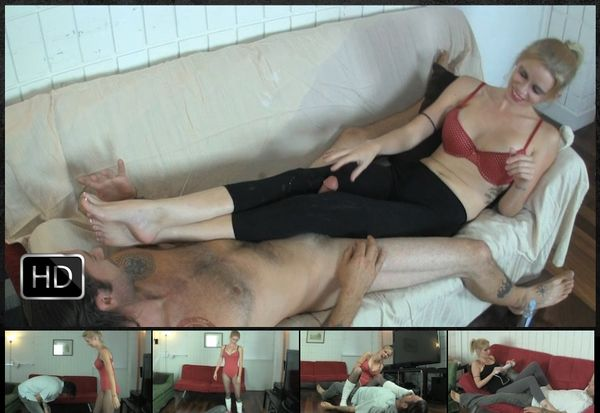 FetishNetwork - Vanessa Vixon Torments her Boyfriend with CBT Fun for Days