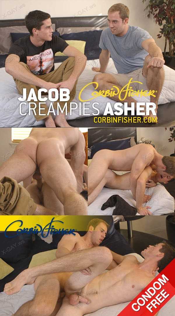 CorbinFisher: Jacob Creampies Asher (Bareback)