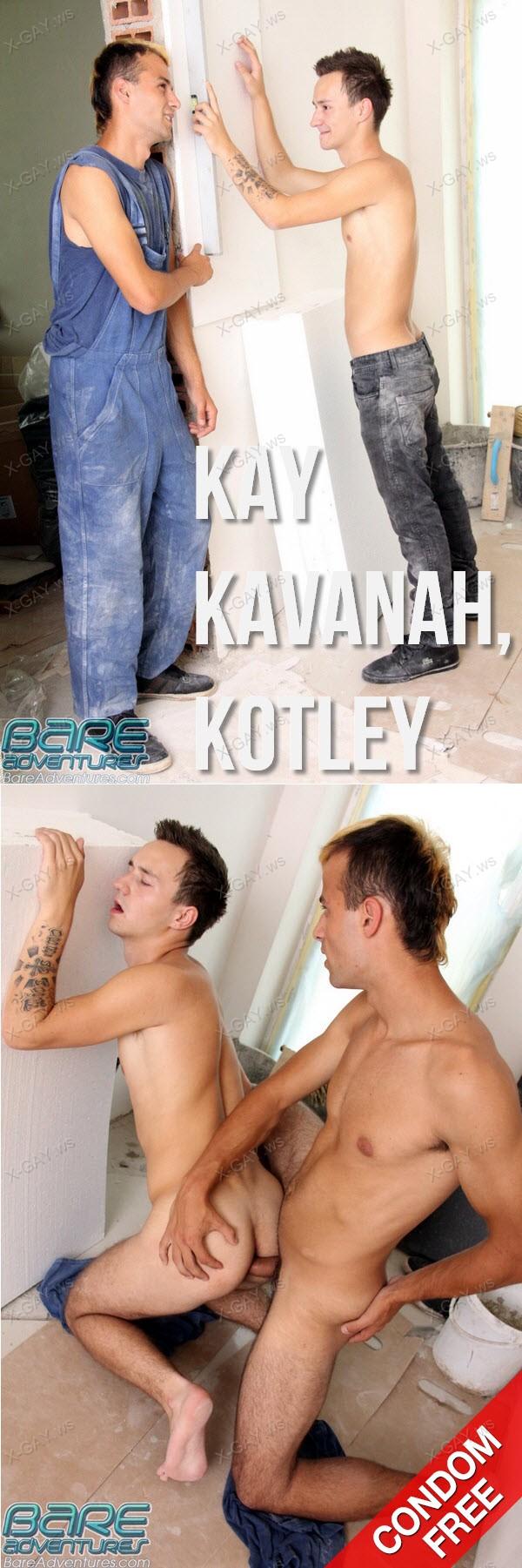 BareAdventures: Kay Kavanah, Kotley (Bareback)