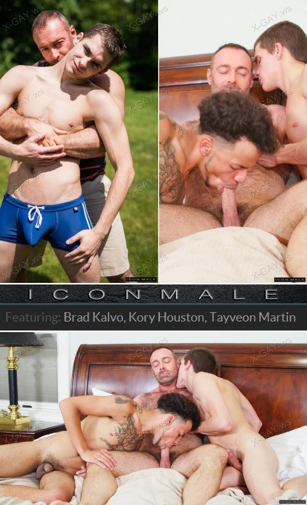 IconMale: Daddy's Big Boy 2, Scene #04 (Brad Kalvo, Kory Houston, Tayveon Martin)