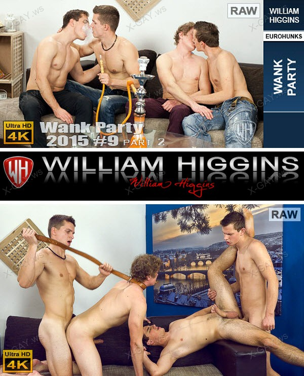WilliamHiggins: Wank Party 2015 #09, Part 2 (RAW, WANK PARTY) [4K Ultra HD]