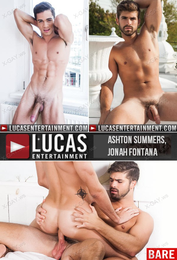 LucasEntertainment: Ashton Summers Bottoms For Jonah Fontana (Hitting It Raw)