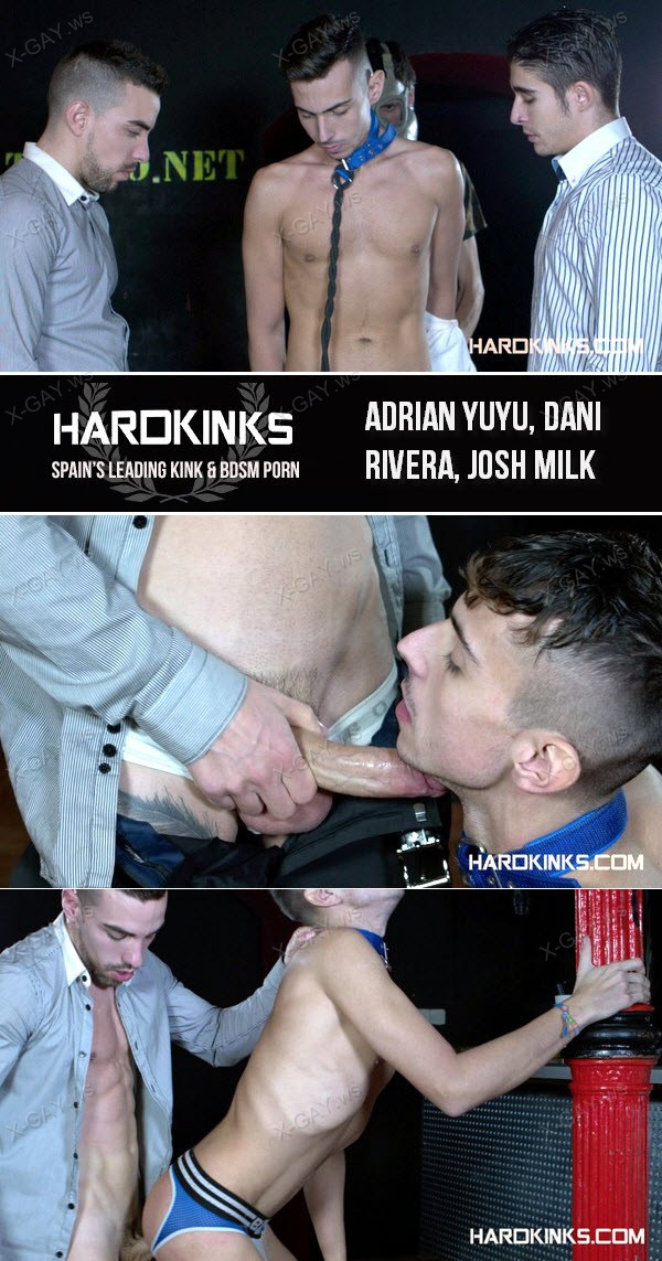 HardKinks: Private Club (Adrian Yuyu, Dani Rivera, Josh Milk)