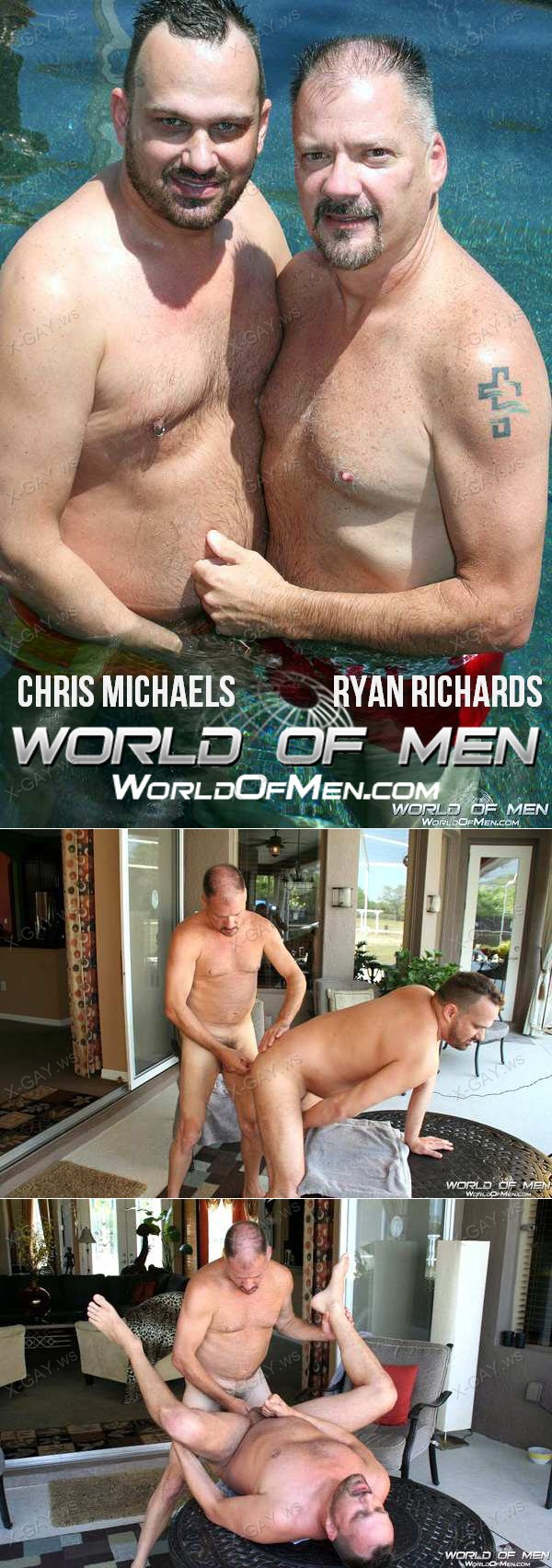 WorldOfMen: Chris Michaels, Ryan Richards