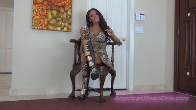 American Mean Girls - Lost Bet Ballbusting Princess Carmela