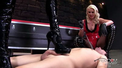 Femdom Empire – Cum Bath Boot Bitch Brittany Andrews, Gigi Allens