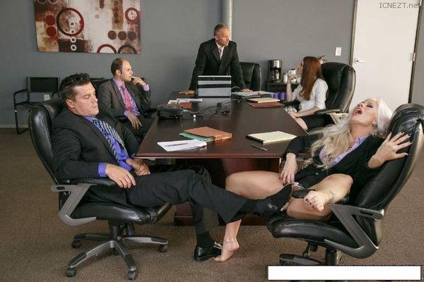 Boring office meeting joi fantasy cum for me 2