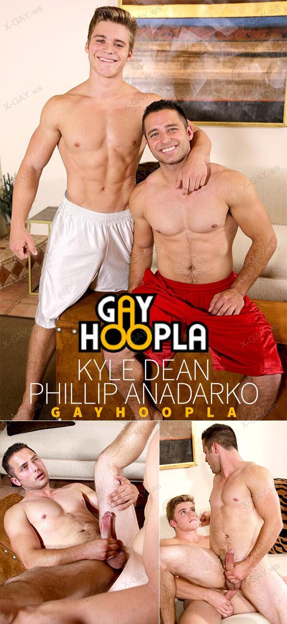 GayHoopla: Kyle Dean Fucks Uncut Jock Phillip Anadarko