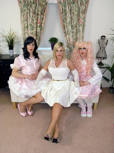 TheEnglishMansion - Lady Nina Birch - Pretty In Pink part 1-3 update