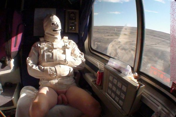 AliceInBondageLand - Bobbie - CBT Bondage Intensity (Cross Country Train Trip)
