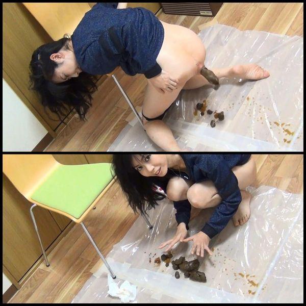 (BFJG-17) Self filmed enema girls and defecation