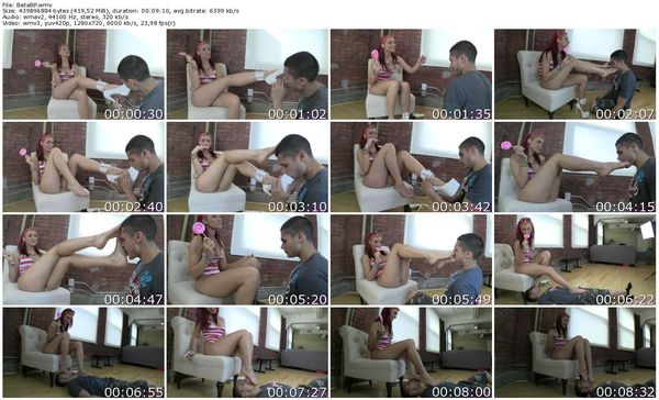 BratPrincess - Amadahy - Beta Males First Time serving Princess Part 1