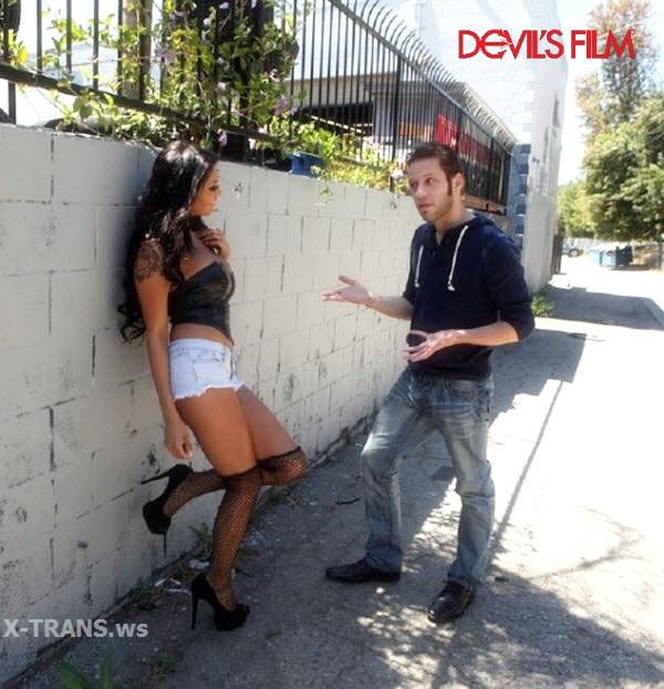 DevilsFilm: Transsexual Prostitutes 74, Scene #02 (Natalie Foxx, Wolf Hudson)