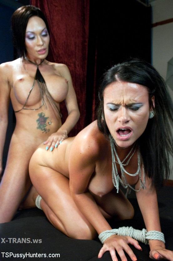TSPussyHunters: Mia Isabella, Ashli Ames